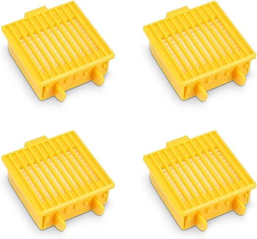 kwmobile Set de 4 filtros de Repuesto compatibles con Roomba - Serie 700 - Accesorios y recambios de filtros para Robot Aspirador: Amazon.es: Hogar