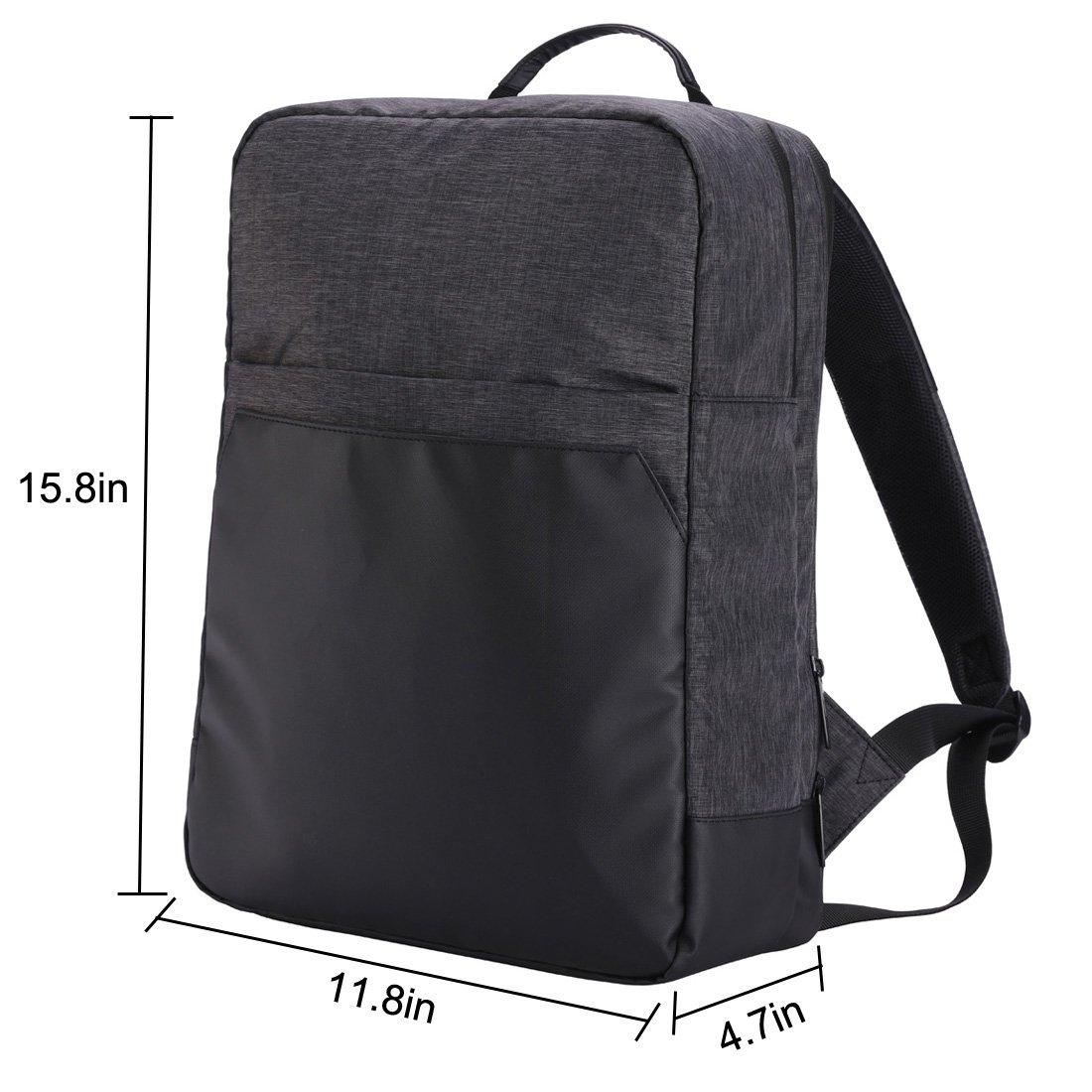 9043ba2f29e3 Amazon.com: Leberna Lightweight Business Backpack Water-resistant ...