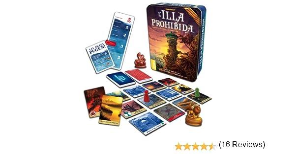 Devir-La Illa Prohibida Juego de Mesa, versión catalana, Multicolor (BGILLA): Amazon.es: Juguetes y juegos