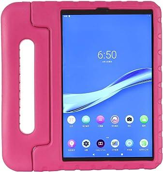Kavon Funda Protectora para Tableta Lenovo Tab M10 FHD Plus TB-X606F 10.3 Pulgadas,EVA Soporte de Mango Convertible a Prueba de Golpes,Estuche para Tableta Liviano para Niños (Rosa): Amazon.es: Electrónica