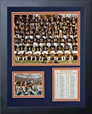 11x14 FRAMED 1985 CHICAGO BEARS 8X10 TEAM PHOTO MIKE DITKA SUPER BOWL XX