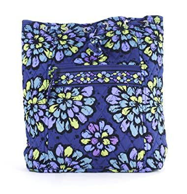 Vera Bradley Backsack in Indigo Pop