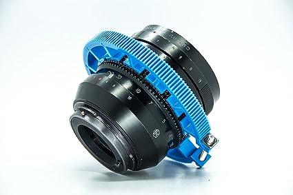 Cinemática profesional Gear Anillo Cinturón 80 - 90 mm para follow ...