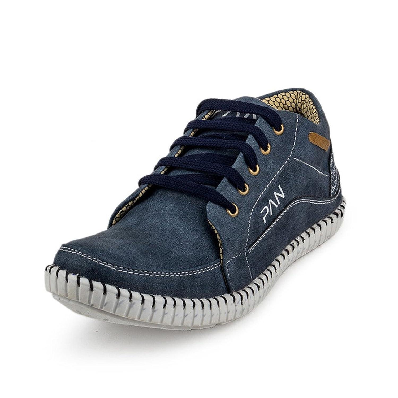PAN Mens G33 BLUE Denim Casual Shoe