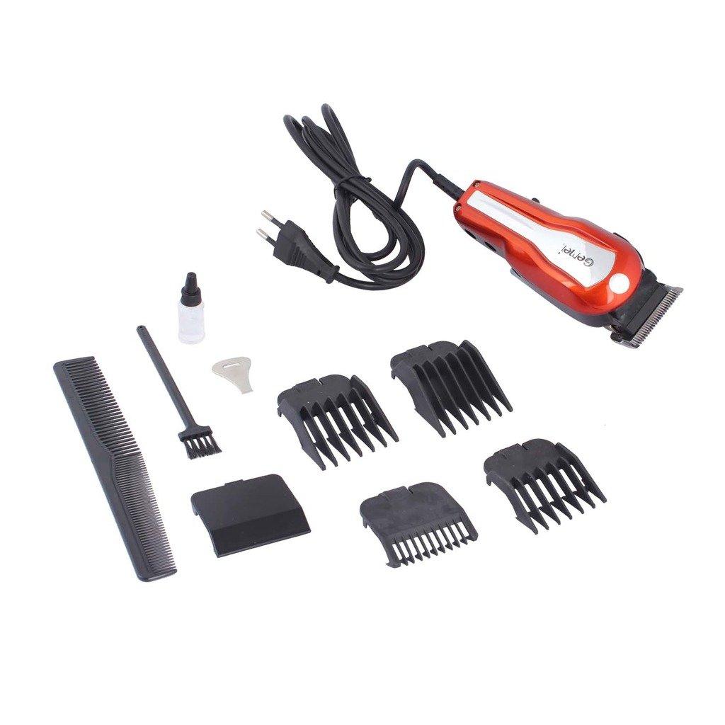 e2dbfd640 Maquina de Cortar Cabelo Barba Vermelha NOVA Nv-1400 Red Aparador Cortador  110V: Amazon.com.br: Cozinha