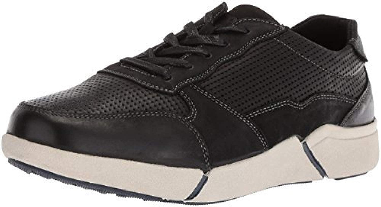XX-Wide Propet Mens Landon Sneakers Black 9.5 E