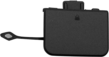 Rear Lower Tow Hook Cover; With Amg; Prime Finish; Made Of Plastic Partslink MB1129133
