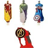 Bandai - 84592 - Mega pack - Flying Heroes 3 Avengers - Multicolore