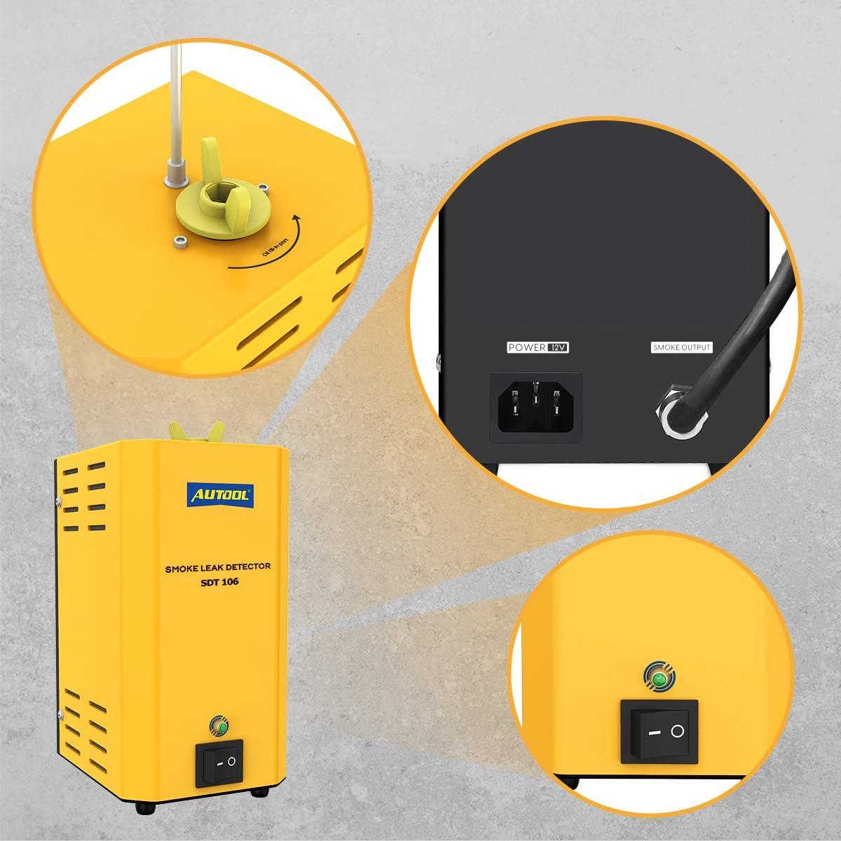 Fuel System Tools AUTOOL SDT-106 Car Fuel Leak Machine Automotive ...
