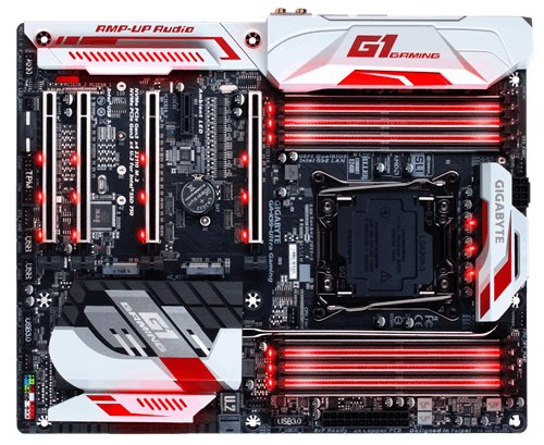 GIGABYTE 128 GB X99 Ultra EK Gaming Motherboard - Black