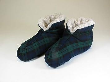 Amazon.com: Calor tus pies zapatillas por Grampa de Garde ...
