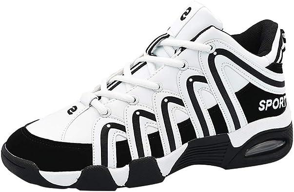 Zapatillas Deporte Hombre,DUJIE Zapatos amortiguación ...