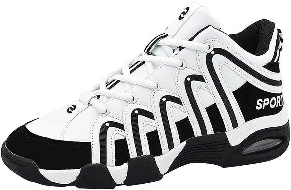Zapatillas Deporte Hombre,DUJIE Zapatos amortiguación Antideslizante Cesta Unisex Zapatillas Zapatillas de Sintético Unisex Adulto Zapatos para Correr Gimnasio Sneakers: Amazon.es: Zapatos y complementos