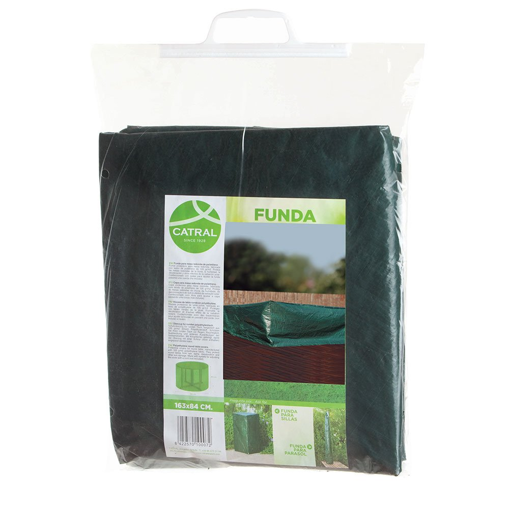 Catral 57010035Picnic-Table Cover for Outside - 65x 165x 160cm - Green