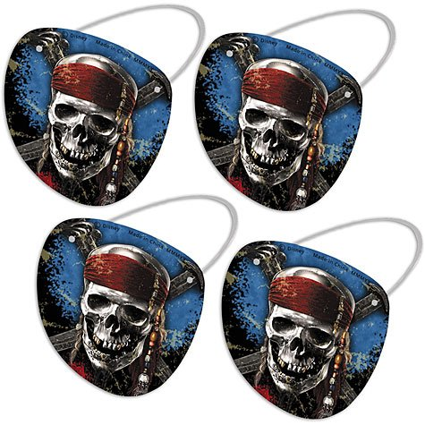 Hallmark - Pirates of the Caribbean 4 - Eye Patches