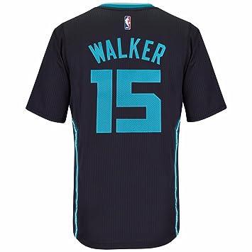 designer fashion 18697 5856e Amazon.com : Kemba Walker Charlotte Hornets Adidas Swingman ...