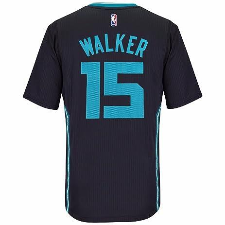0cf028cc607 ... Kemba Walker Charlotte Hornets Adidas Swingman Black Buzz City Jersey  (XL) ...
