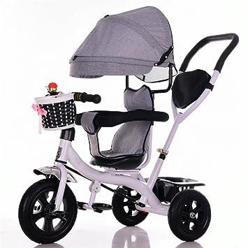 Carrito de bebé Triciclo Baby Carriage Bicicleta de juguete para niños Trolley rueda de titanio /