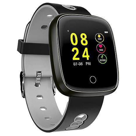 Amazon.com: FEDULK Smart Watch Sports Fitness Activity Heart ...