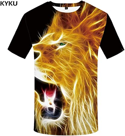 KYKU Tigre T Shirt Ropa de Agua Camisas de Animales Ropa de ...