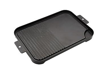 Grillplatte Für Gasgrill Landmann : Landmann grillplatte selection schwarz 43 5 x 27 5 x 2 9 cm