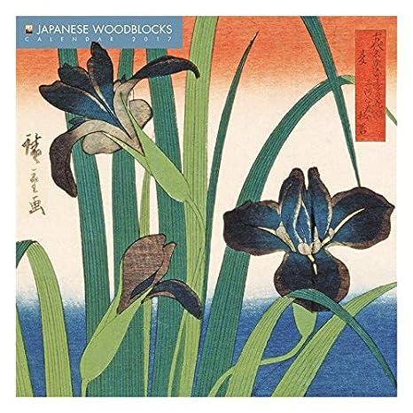 Calendario 2017 arte japonés woddblocks - artista japonés ...