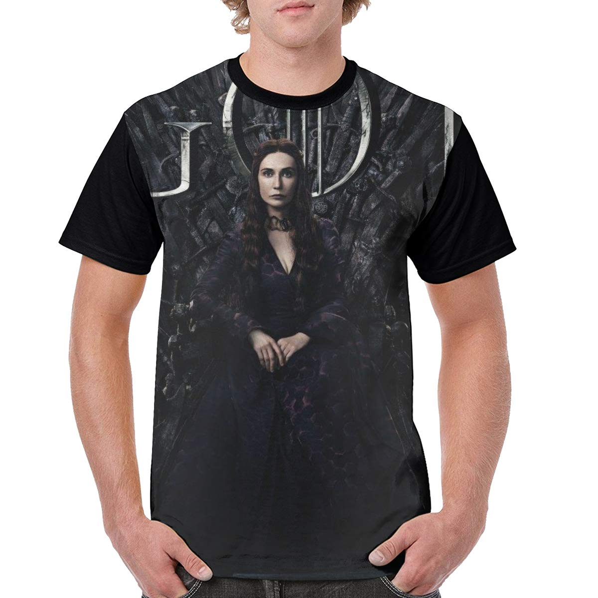 SHENGN Custom Man Game of Thrones Printing T Shirt