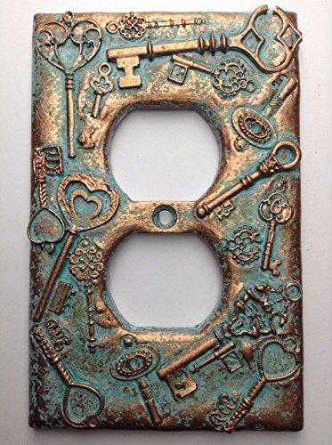 Keys (Steampunk) Outlet Cover (Patina - Outlet Keys
