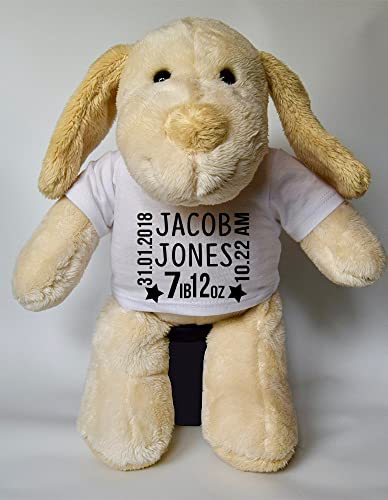 Personalised baby born keepsake dog teddy personalised new baby personalised baby born keepsake dog teddy personalised new baby gifts teddy baby gifts childrens gifts new negle Gallery