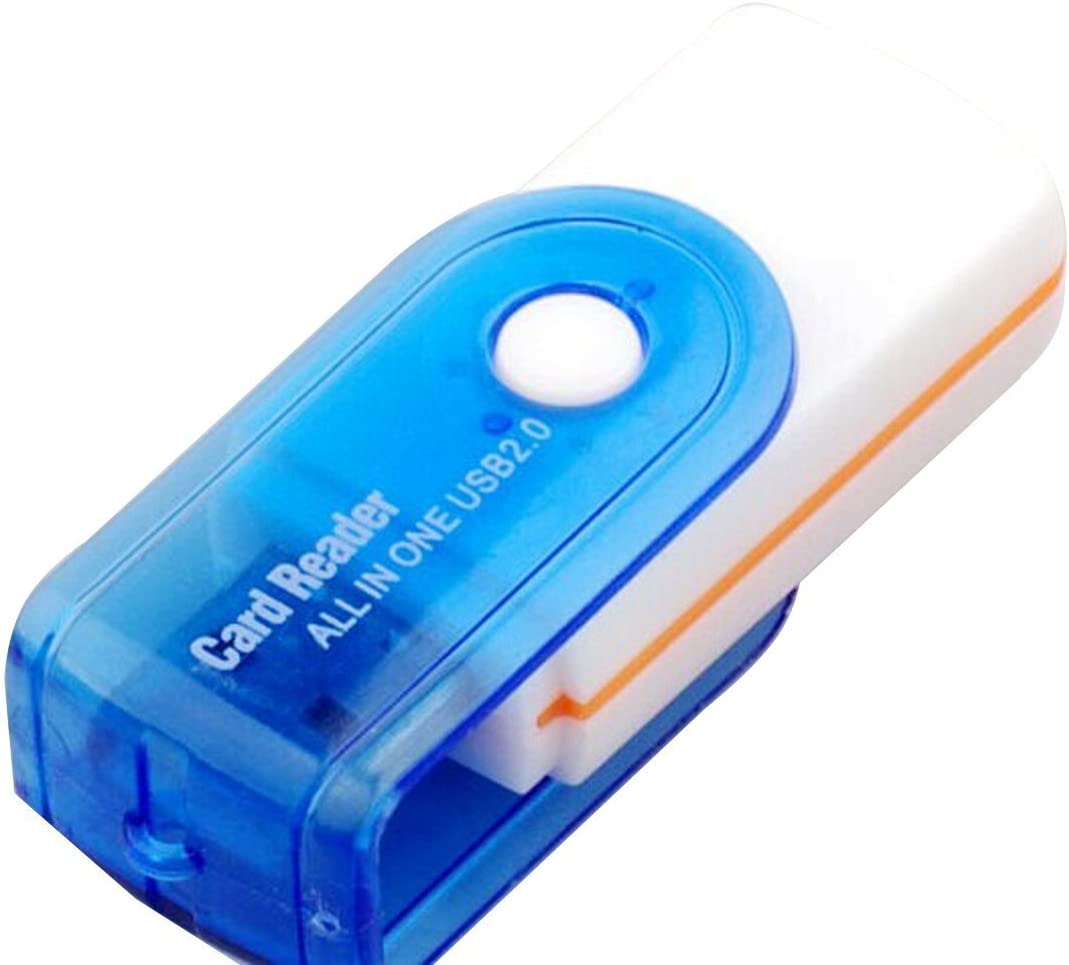BSWHW USB 2.0 Memory Multi Card Reader Model 1