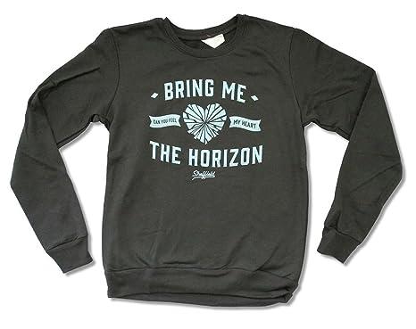 Amazon Com Bring Me The Horizon Feel My Heart Grey Girls Juniors