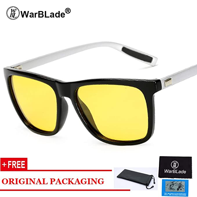 Amazon.com: Polarized Night Vision Glasses Yellow Driving ...