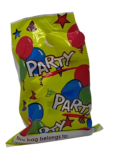 Party Treat Bags Pack Of 24 Cellophane Favor Bulk Loot