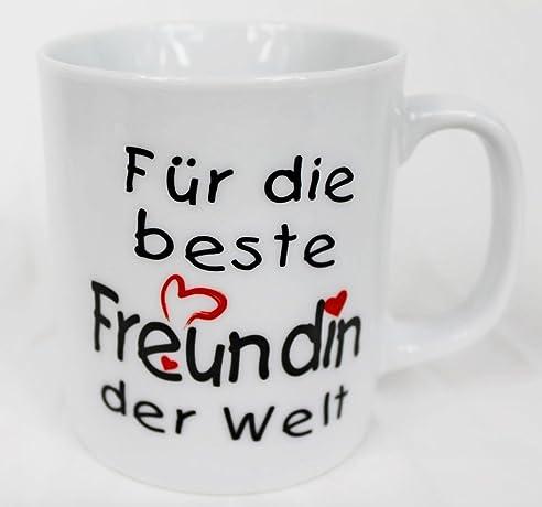 Tasse   Für Die Beste Freundin Der Welt   Kaffee Kaffeetasse Geschenk  Valentinstag