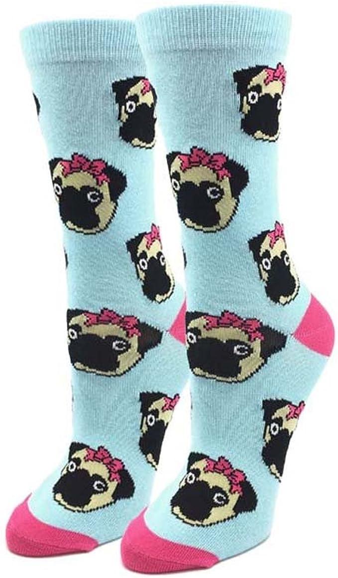 Foozys Flip Flops Crew Socks Ladies//Girls 2 Pairs-1 Black+1 Green Women/'s Socks