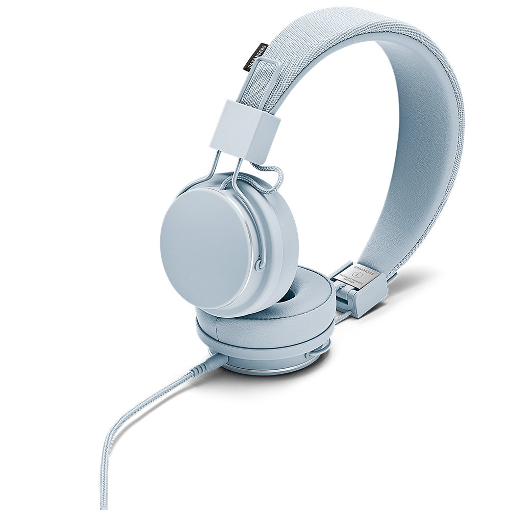 Urbanears Plattan 2 On-Ear Headphone, Snow Blue (04091672) by Urbanears