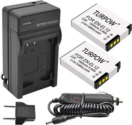 Batería Cargador para Nikon EN-EL12 COOLPIX S9400 S800C S1200pj S8000 S8100 S9500