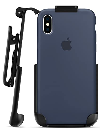buy popular d9599 05ee6 Encased Belt Clip Holster for Apple Silicone Case - iPhone X (case is not  Included)