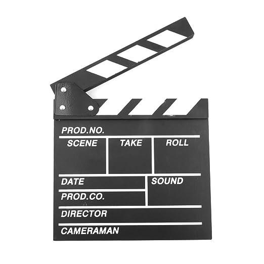 detec Toy película Clap per Board, Madera 20 x 20 x 1.5 cm ...