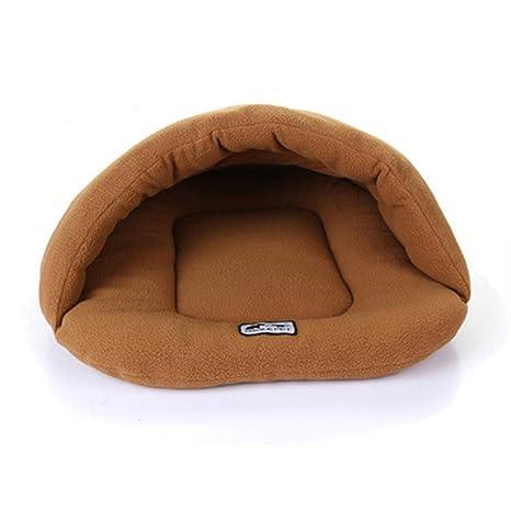 Heylookhere Saco de Dormir para Gatos Camas de Animales Calientes Saco de Snuggle Alfombra de Perros