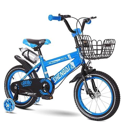 1-1 Niños Bebé Bicicleta, Mudo Destello Auxiliar Rueda Doble Freno La Seguridad Ambiental