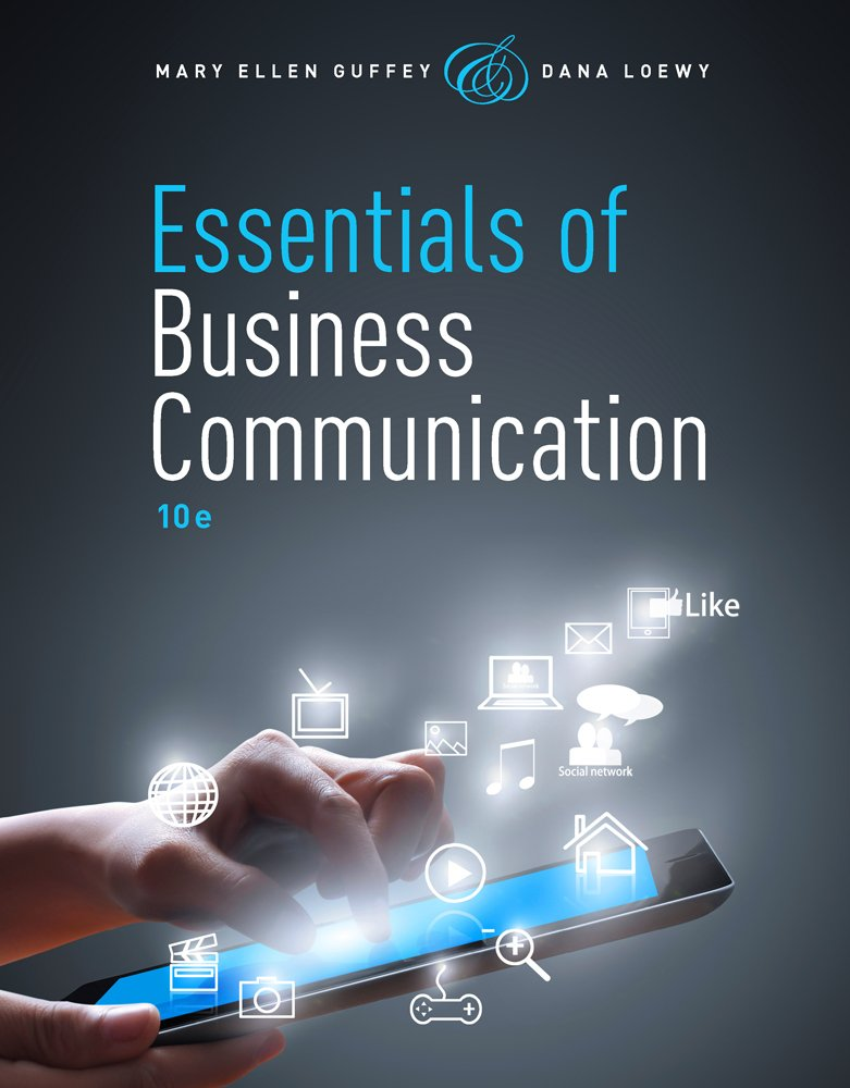 Essentials of Business Communication (with Premium Website, 1 term (6 months) Printed Access Card) by Cengage Learning