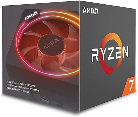 Amazon Com Amd Ryzen 7 2700x Processor With Wraith Prism Led Cooler Yd270xbgafbox Computers Accessories