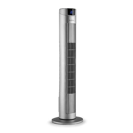 Klarstein Silver Edition Ventilador de Columna Gris: Amazon.es: Hogar