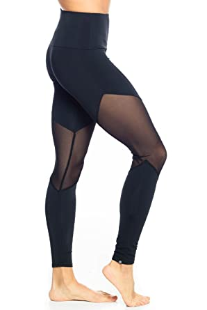 77f2b0106ea145 Onzie High Rise Track Legging -Black-XS Womens Active Workout Yoga Leggings  Black