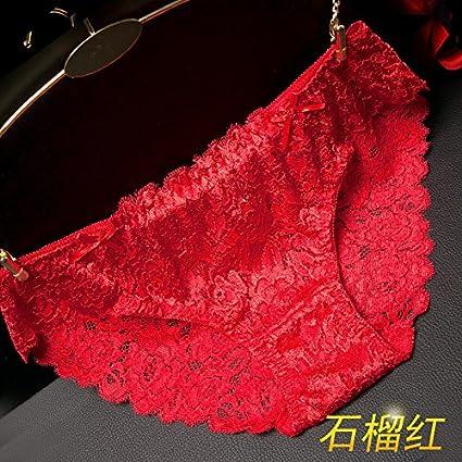 GQF*tejido de encaje ropa interior femenina mayor sentido de tentación para no marcar la