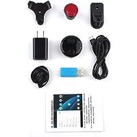Agomike HDQ15 Smart WiFi Mini Cámara HD 1080P IP Videocámara en Red 12MP Visión Nocturna Sensor de Detección de Movimiento Coche Deportes Acción DV DVR