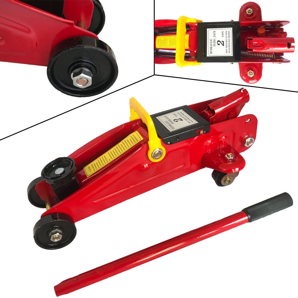GSMV 2 Ton Low Profile Hydraulic Floor Jack Work Shop Stand Tool Portable