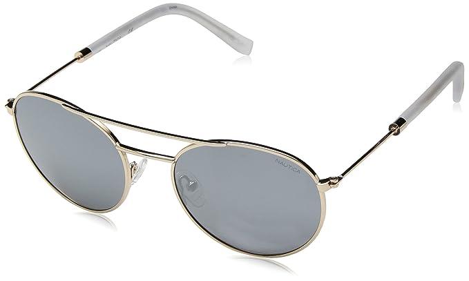 Nautica N4633Sp 717 52, Gafas de Sol para Hombre, Gold