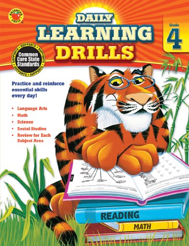 Daily Learning Drills, Grade 4 (Brighter Child: Daily Learning Drills)